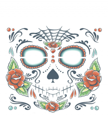 Day of the Dead Totenkopf Tattoo