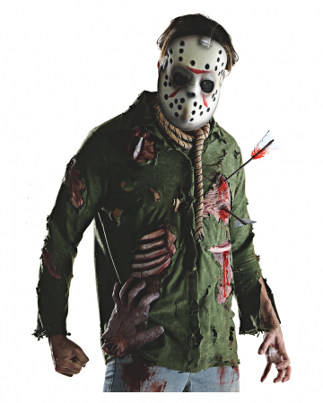 Deluxe Jason Shirt With Mask