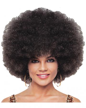 Deluxe Jumbo Afro Wig Brown