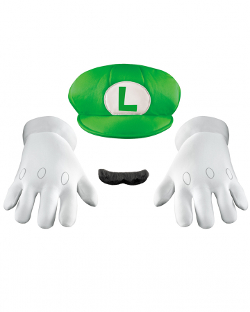 Luigi Accessory Set For Adults