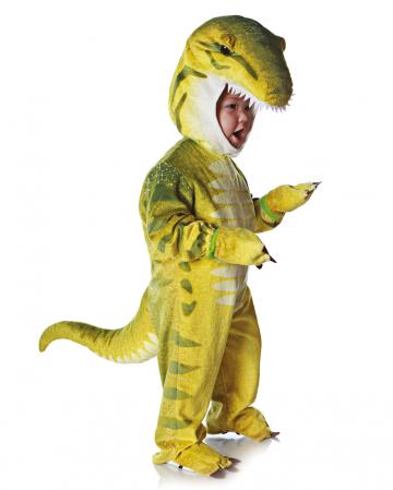 T-Rex Kleinkinderkostüm Grün