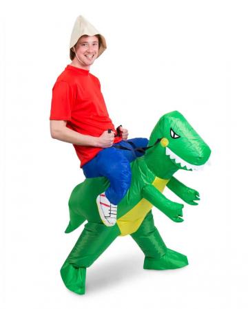 Aufblasbares Dino Carry Me Kostüm