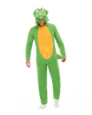 Dino Onesie Kostüm für Erwachsene
