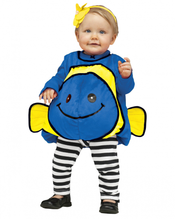 Dory Clownfish Baby Costume Blue