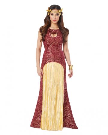 Dragon Princess Costume Red-gold