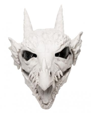 Drachen Schädel Maske mit beweglichem Mund