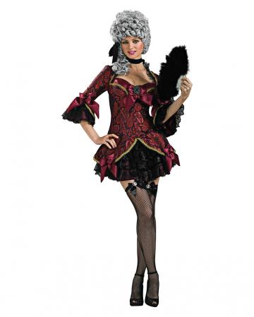 Dunkle Französische Königin Kostüm