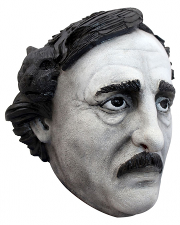 Edgar Allan Poe Latex Mask