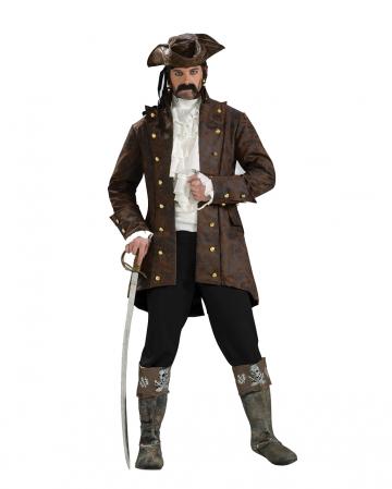 Edler Piraten Crew Mantel Braun