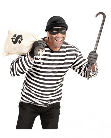 3-piece Burglar Costume