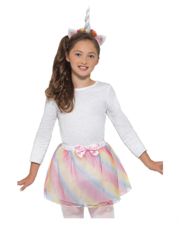 Kostümzubehör-Set Einhorn für Kinder
