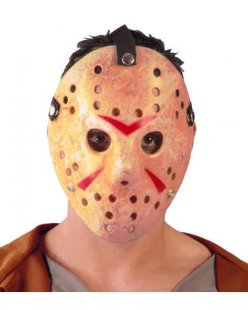 Verschmutzte Eishockey Maske