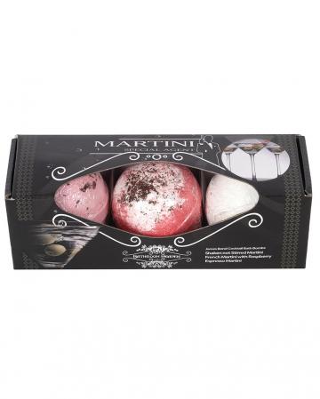 Zauberhaftes Martini Badebomben Set