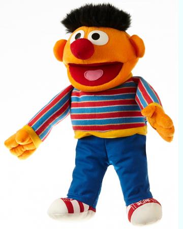 Ernie Sesame Street Hand Puppet