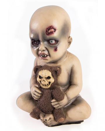 Evil Baby mit Teddybär
