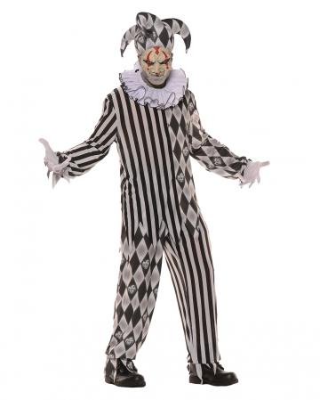Evil Harlequin Costume