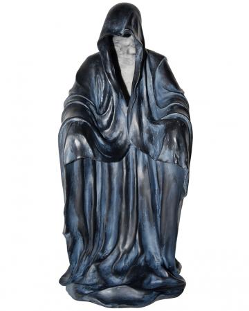 Gesichtsloser Sensenmann Statue mit LED 49 cm