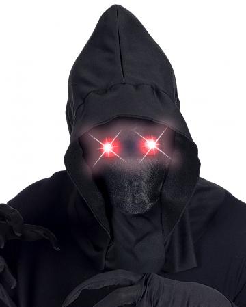 Faceless Mask With Shining Red Eyes