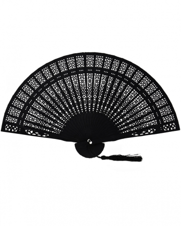 Fan With Hole Pattern Black
