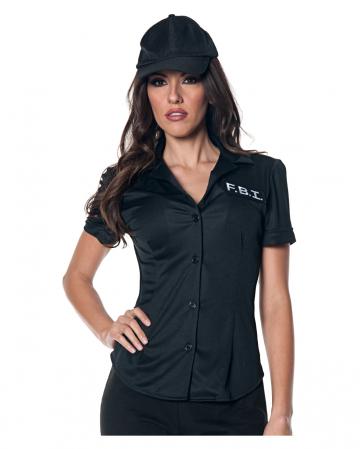 FBI Kostüm Shirt für Damen