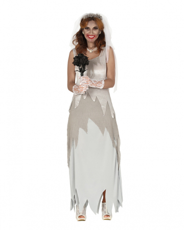 Ghost Bride Costume With Veil