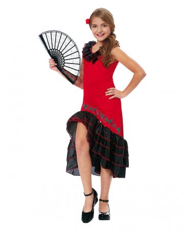 Kinderkostüm Flamenco Tänzerin