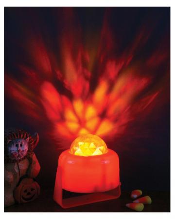 Kürbis Licht flammend