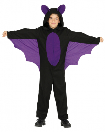 Bat Costume With Wings