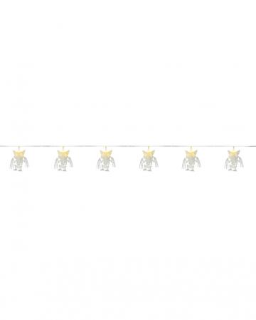 Bat Skeleton Chain Of Lights 100cm