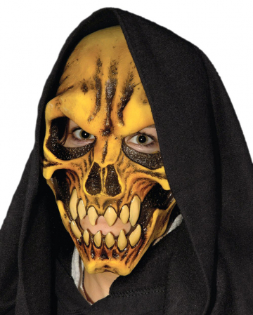 Horror Skull Maske mit Kapuze