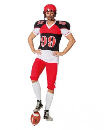 Herrenkostüm Football Spieler