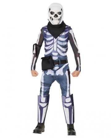 Skull Trooper Kinder Kostüm - Fortnite