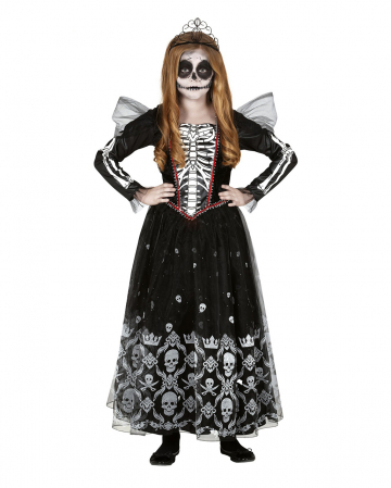 Miss Skeleton Children Costume Dress