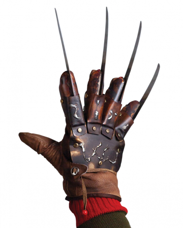 Freddy Krueger Glove The Dream Master Collectors - Nightmare On Elm Street 4