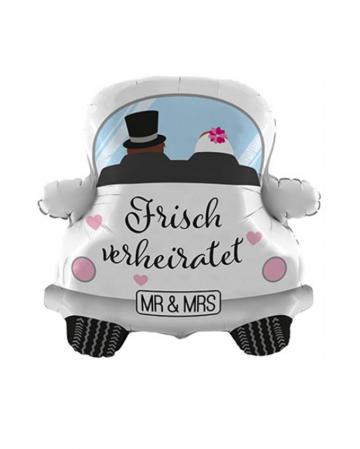 Frisch Verheiratet Auto Folienballon