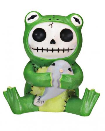 Furrybones Figur - Froggie klein