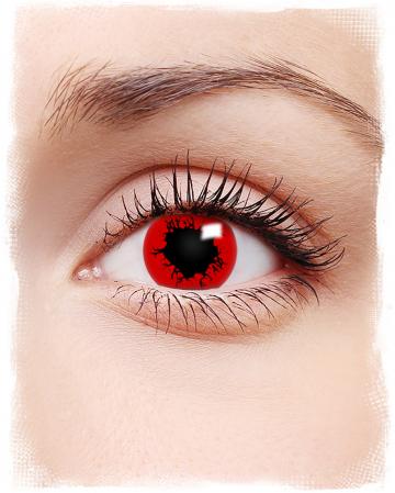 Red Apocalypse Halloween Kontaktlinsen