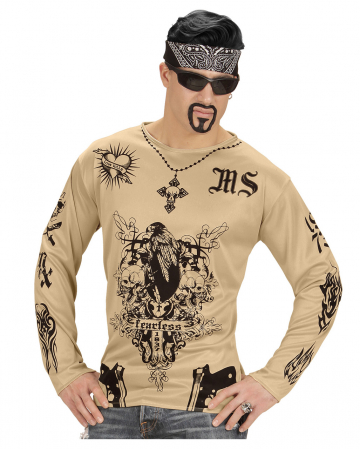 Gang Member Tattoo Shirt