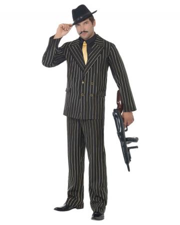 Gangster Nadelstreifen Anzug