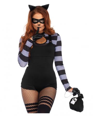 Ganoven Mieze Damen Kostüm