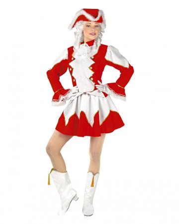 Rot-weißes Tanzmariechen Kleid