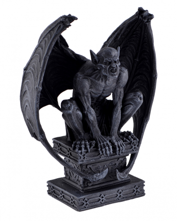 Gargoyle With Wings On Base