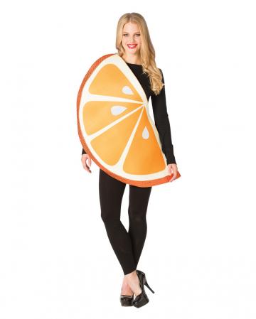 Orangenscheibe One Size Kostüm