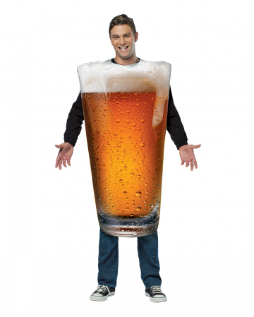 Beer Glass Costume For Adults