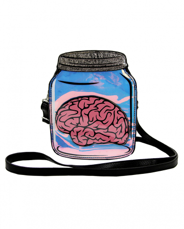 Brain In A Preserving Jar Handbag Vinyl