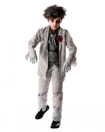 Ghost Groom Costume For Children