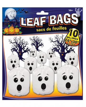 Ghost Leaf Bags 10 Pieces