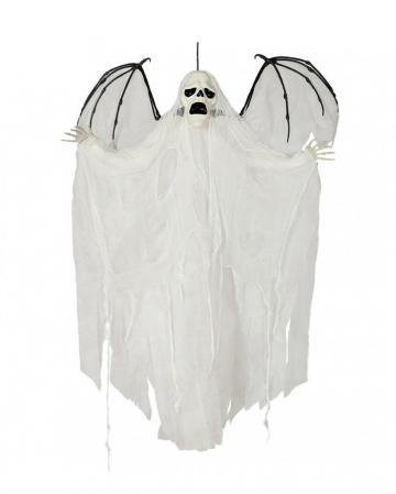 Ghost Phantom Hanging Figure With Wings