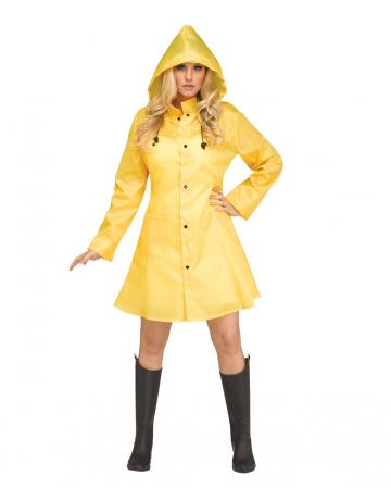 Georgina Rainjacket Yellow
