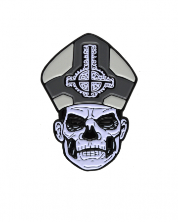 Ghost Papa Emeritus Enamel Pin